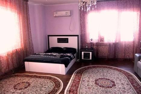 Сдается 1-комнатная квартира посуточнов Атырау, Кулманова, 1.