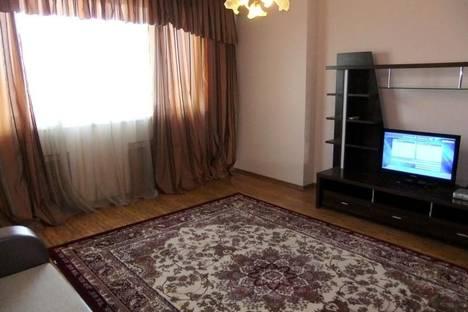 Сдается 1-комнатная квартира посуточно в Атырау, ул. Кулманова, 40.