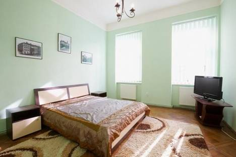 Сдается 2-комнатная квартира посуточно в Львове, Шопена, 5.