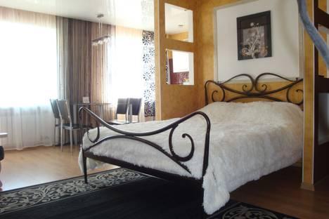 Сдается 1-комнатная квартира посуточнов Комсомольске-на-Амуре, проспект Ленина, 44.