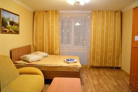 Сдается 1-комнатная квартира посуточно в Брянске, Красноармейская улица, д. 100, корп. 3.
