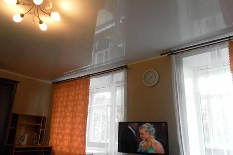 Сдается 1-комнатная квартира посуточно в Смоленске, ул. Октяябрьской революции, 28.