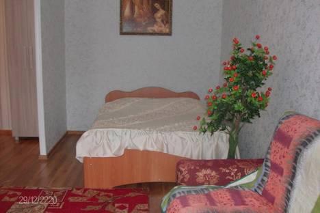 Сдается 1-комнатная квартира посуточно в Кургане, ул. Савельева, 42.