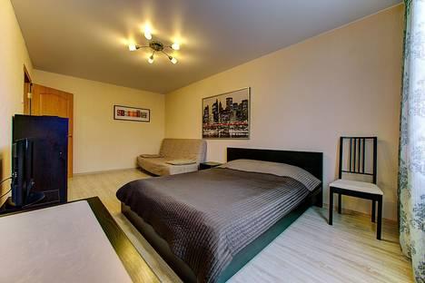 Сдается 1-комнатная квартира посуточнов Санкт-Петербурге, аллея Поликарпова, 8/1 (ПК1).