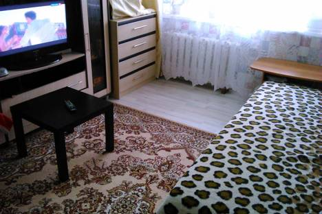 Сдается 1-комнатная квартира посуточно в Электростали, проспект Ленина, 10А.