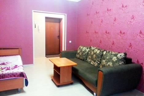 Сдается 1-комнатная квартира посуточно в Тобольске, 4 микрорайон, д.17.