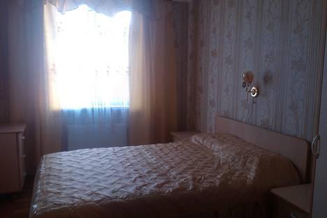 Сдается 2-комнатная квартира посуточно в Брянске, ул. Анри Барбюса, 5.