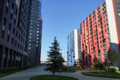 Сдается 2-комнатная квартира посуточнов Истре, микрорайон Велтон Парк Новая Сходня, к10.