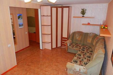 Сдается 1-комнатная квартира посуточнов Уфе, проспект Октября, 111/3.