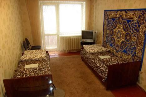 Сдается 1-комнатная квартира посуточно в Славянске, ул. Юных Коммунаров, 58.