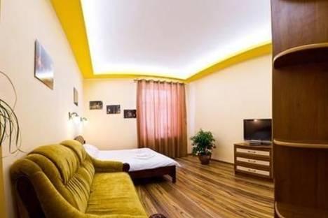 Сдается 1-комнатная квартира посуточно в Львове, пр-т Шевченко, 11.