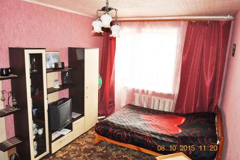 Сдается 1-комнатная квартира посуточно в Муроме, Нижегородская улица, д. 1.