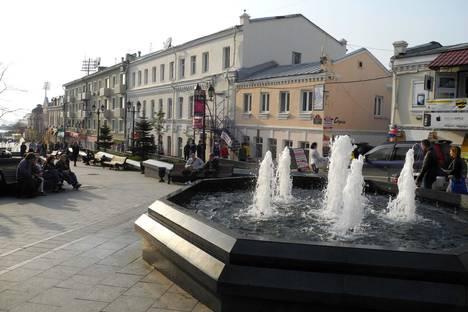 Сдается 1-комнатная квартира посуточново Владивостоке, ул. Адмирала Фокина, 5.