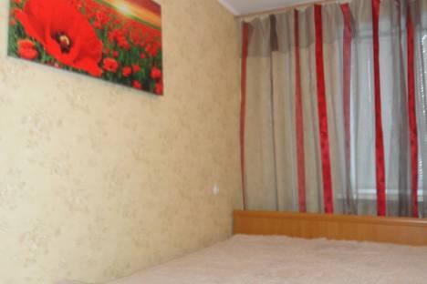 Сдается 2-комнатная квартира посуточно, ул октябрьская д68.