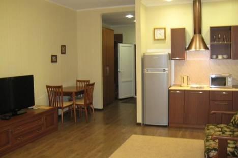 Сдается 1-комнатная квартира посуточно в Зеленой поляне, пос.Зеленая Поляна, ул .Солнечная, 32.