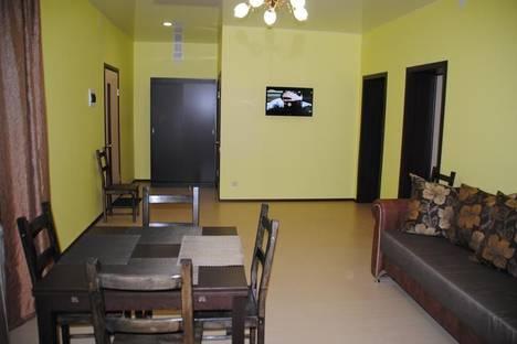 Сдается 3-комнатная квартира посуточно в Зеленой поляне, Кусимово, ул. Тагира Кусимова, д. 1/2.