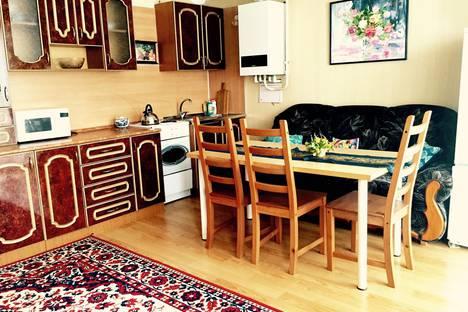 Сдается 2-комнатная квартира посуточнов Зеленой поляне, д.Зелёная Поляна, ул.Курортная, д.55/1.
