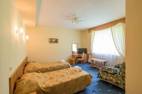Сдается 1-комнатная квартира посуточнов Красной Поляне, ул. Заповедная 46..