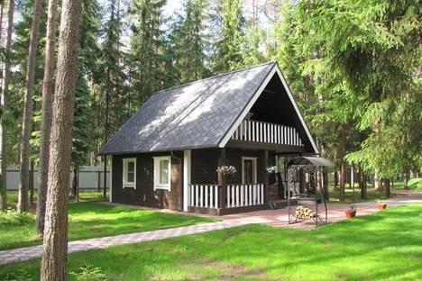 Сдается коттедж посуточно в Зеленогорске, Рощино, Еловая аллея 38.