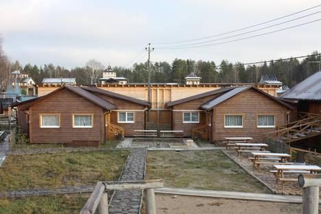 Сдается коттедж посуточнов Зеленогорске, пос. Молодежное, Средневыборгское шоссе, км 12.