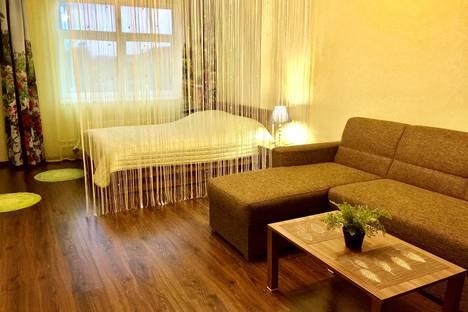 Сдается 1-комнатная квартира посуточно в Пскове, Коммунальная улица, 15б.
