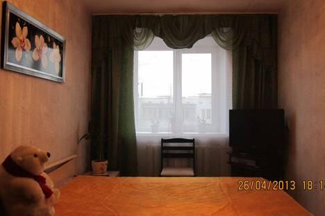 Сдается 1-комнатная квартира посуточно в Пскове, ул. Максима Горького, 12.