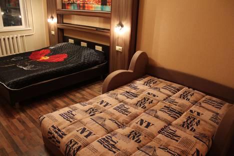 Сдается 1-комнатная квартира посуточно в Кировске, Олимпийская, 87.