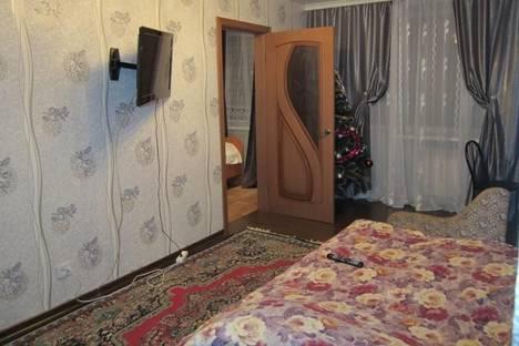 Сдается 2-комнатная квартира посуточно в Шерегеше, ул. Дзержинского, д. 16.