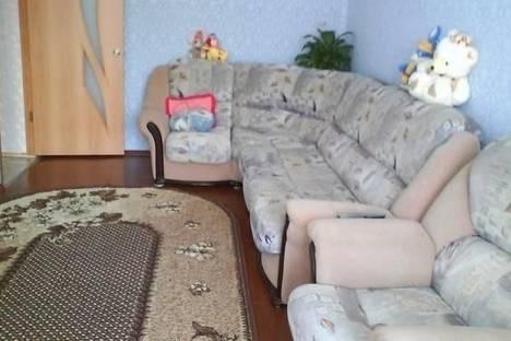 Сдается 2-комнатная квартира посуточно в Шерегеше, ул. Гагарина, д. 8.
