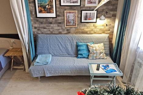 Сдается 2-комнатная квартира посуточно в Красной Поляне, ул. Защитников Кавказа, 3.