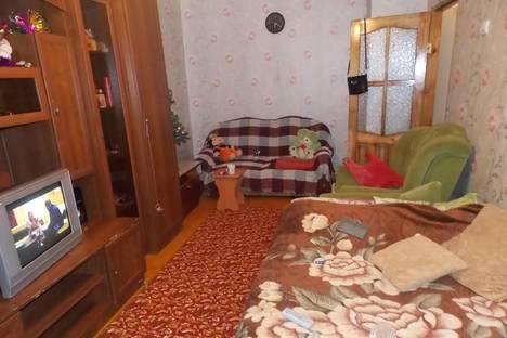Сдается 1-комнатная квартира посуточно в Великом Устюге, ул. Хабарова, 7А.