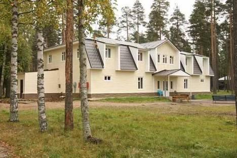 Сдается коттедж посуточно в Зеленогорске, пос. Рощино, км 9.