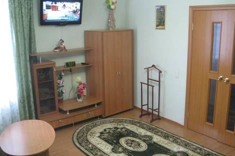 Сдается 1-комнатная квартира посуточно в Кирове, ул.Солнечная 45.