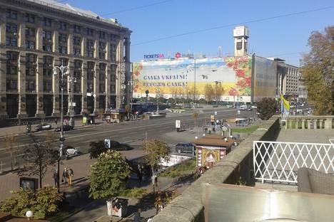 Сдается 3-комнатная квартира посуточнов Киеве, Крещатик 13/2.