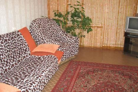 Сдается 1-комнатная квартира посуточно в Старом Осколе, м-н Лесной 6.