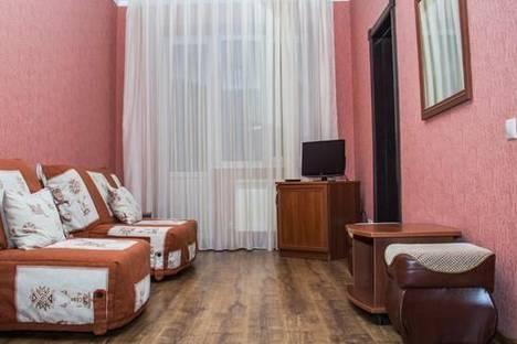Сдается 2-комнатная квартира посуточнов Терсколе, Терскол, гостиница «Сосновый бор», 1.