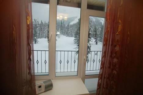 Сдается 2-комнатная квартира посуточно в Шерегеше, гора Зеленая, 1.