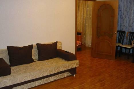 Сдается 2-комнатная квартира посуточно в Улан-Удэ, ул. Профсоюзная, 40.