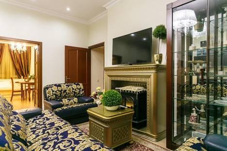 Сдается 4-комнатная квартира посуточно в Минске, 5ти комн VIPапартаменты на Карла Маркса 21(3изол.спальни).