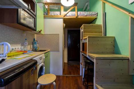 Сдается 1-комнатная квартира посуточно в Санкт-Петербурге, 11-я линия В.О., 44.