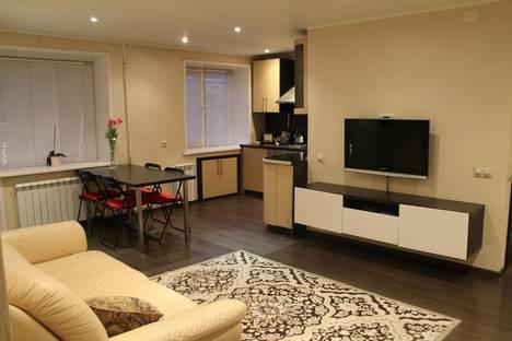 Сдается 2-комнатная квартира посуточно в Твери, переулок Студенческий, 25.