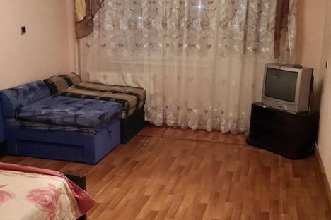 Сдается 1-комнатная квартира посуточно в Красноярске, ул. Светлогорская, 21.