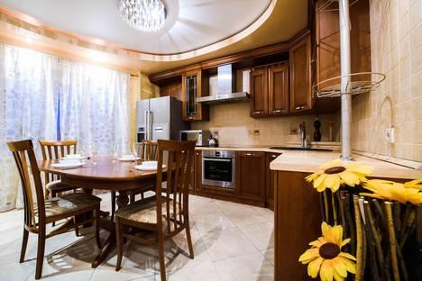 Сдается 2-комнатная квартира посуточно в Уфе, ул.Бульвар Ибрагимова 46.