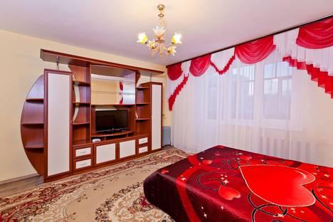 Сдается 1-комнатная квартира посуточно в Тобольске, 7 МИКРОРАЙОН, ДОМ 15.