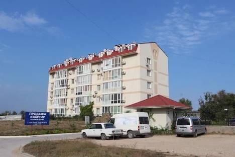 Сдается 1-комнатная квартира посуточнов Черноморском, Евпаторийская, 7б.