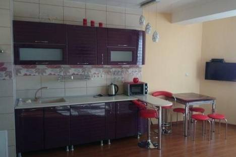 Сдается 1-комнатная квартира посуточно в Адлере, Ленина улица, д. 146.