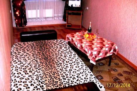 Сдается 1-комнатная квартира посуточно в Бийске, ул. Фрунзе, 1.