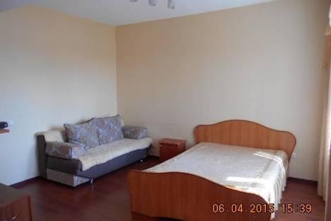 Сдается 1-комнатная квартира посуточно в Иркутске, ул.Байкальская, 107А/1.