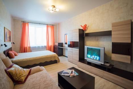 Сдается 1-комнатная квартира посуточнов Воронеже, Ленинский проспект, 124а.