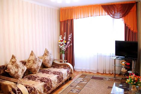 Сдается 1-комнатная квартира посуточно в Алматы, ул. Маркова, д. 47А.